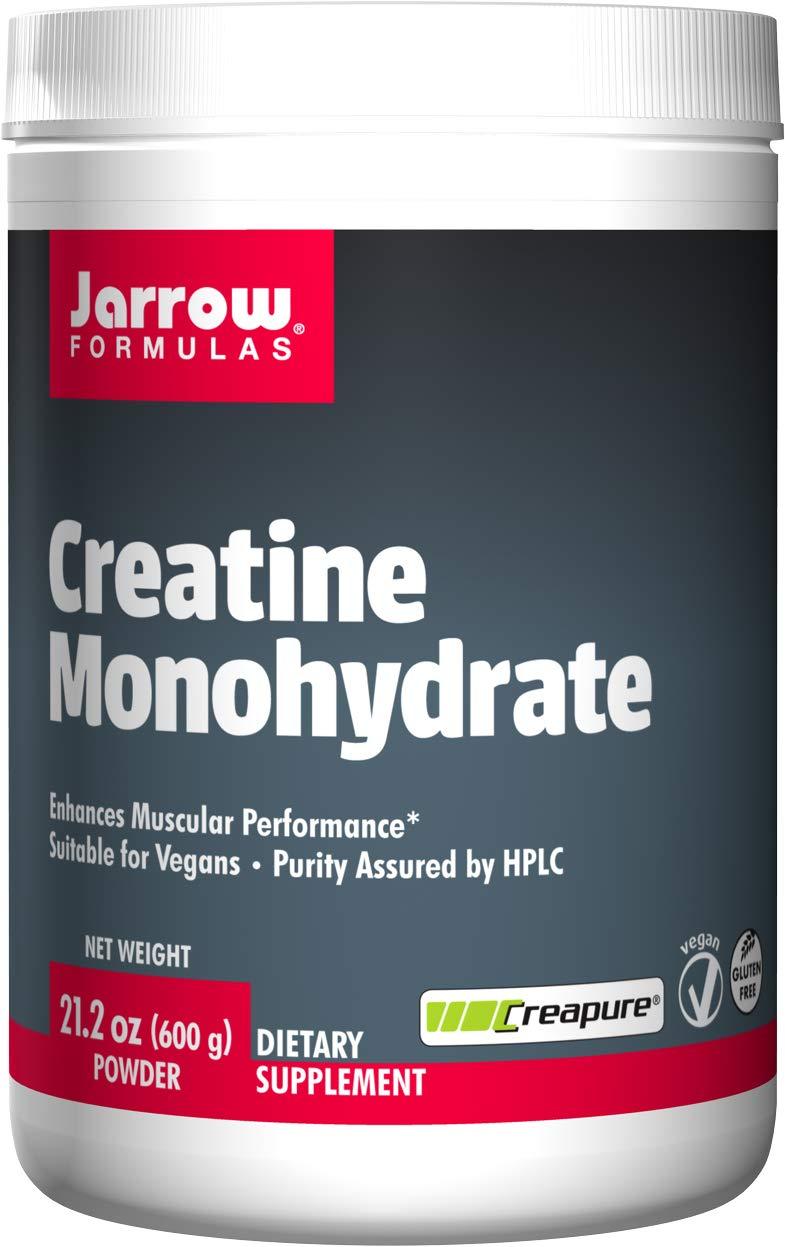 Jarrow Formulas Creatine Monohydrate Powder, Promotes Muscular Performance, 21.2 Ounce by Jarrow Formulas