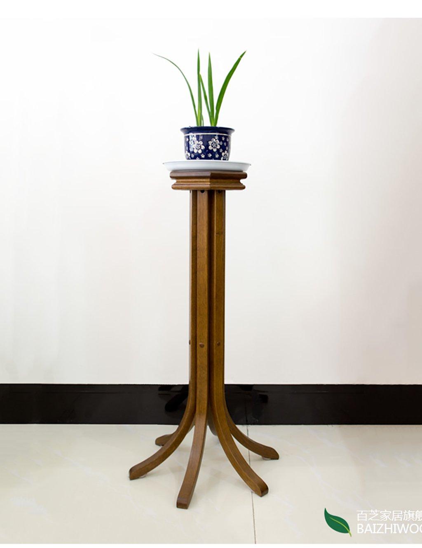 Einfache moderne feste hölzerne einzelne Schicht Blumen-Zahnstange ...