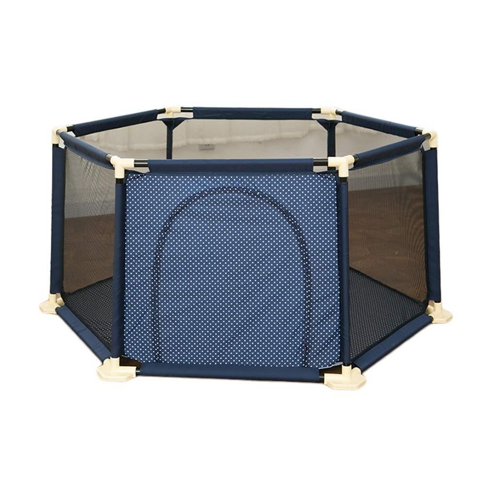 【お買得】 ベビーベビーサークルポータブルキッズセーフティプレイヤード子供アクティビティセンター屋内屋外新しいペン、67 : cm高 (色 : cm高 青) 青 青 B07Q3VTWWF, イノベーションライフ:304f0d7c --- a0267596.xsph.ru