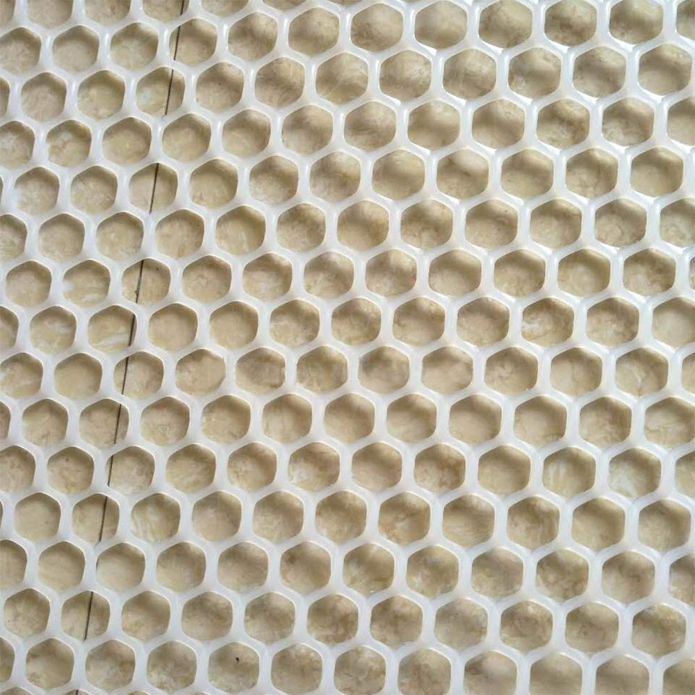 6 x 30ft White Ecover Poultry Fence Plastic Rabbit Fencing Poultry Netting Chicken Net for Chicken//Racoons//Gophor//Snakes