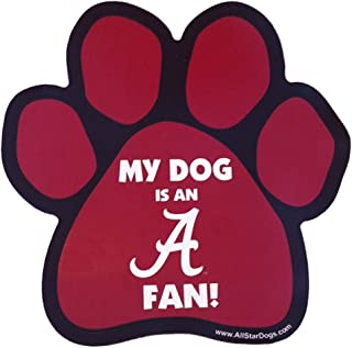 product image for NCAA Alabama Crimson Tide Paw Print Car Magnet
