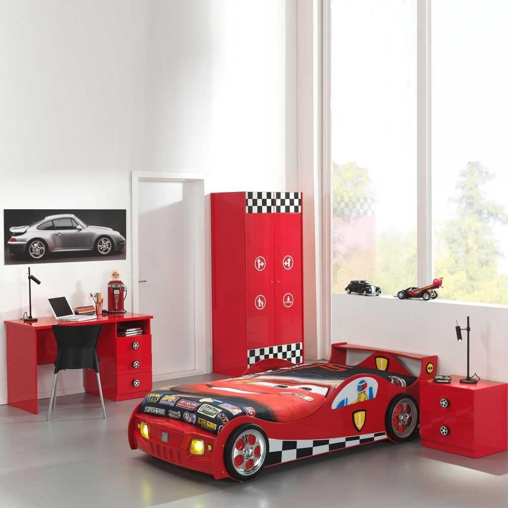 Kinderzimmermöbel Set Race In Rot 4 Teilig Pharao24 Günstig Online