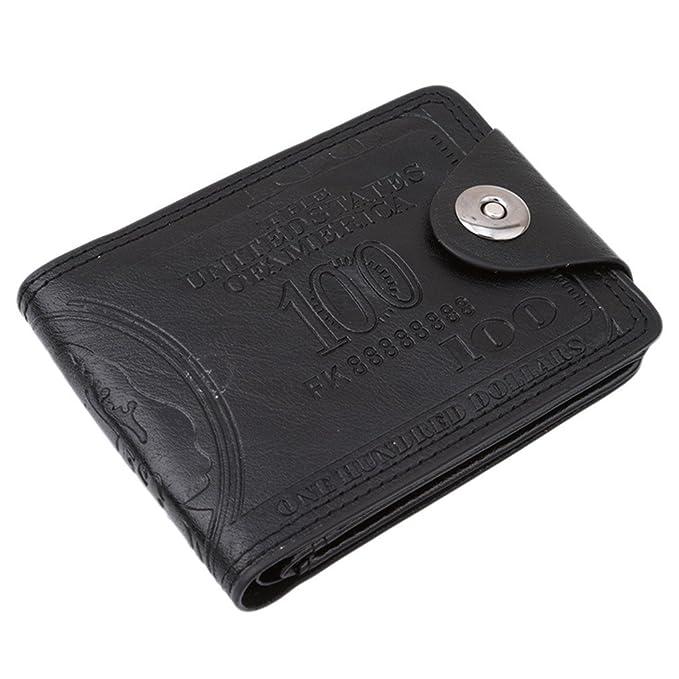 Amazon.com: HENGSONG cartera para hombre con diseño ...
