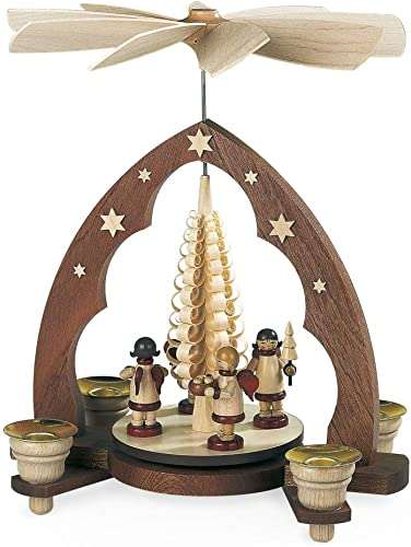 Mueller Angels Bringing Gifts Pyramid Made in Germany