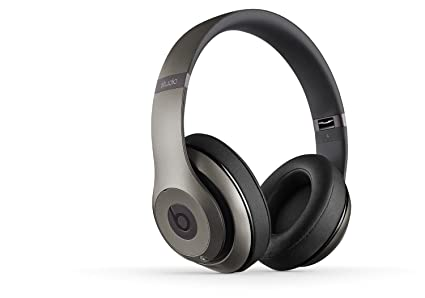 Beats Studio Wireless On-Ear Headphone - Titanium (Certified Refurbished)