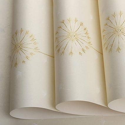 Amazon.com: MMPY Papier Peint De Jardin Chaud Romantique ...