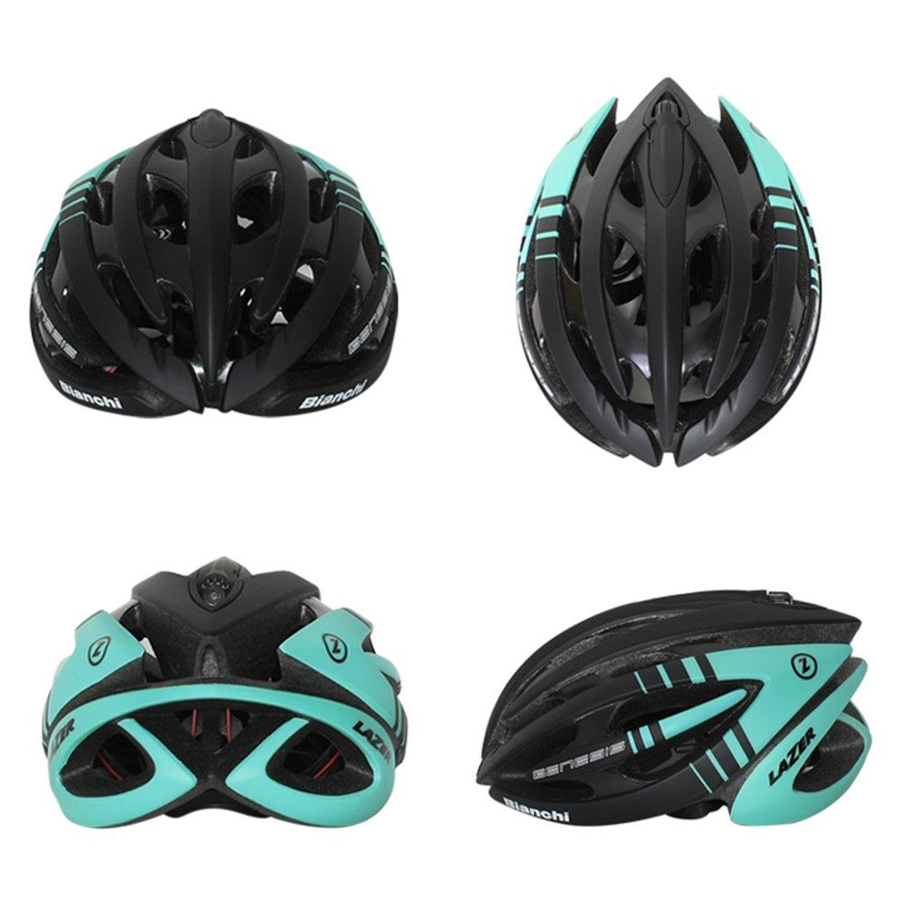 Amazon.com : Bianchi Genesis Road MTB Cycling Helmet Protective Gear Size Medium : Sports & Outdoors