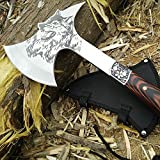 CoolPlus Outdoor Full Tang Survival Camping Hatchet,...