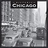 Chicago Historic 2019 12 x 12 Inch Monthly Square Wall Calendar, USA United States of America Illinois Midwest City (Multilingual Edition)