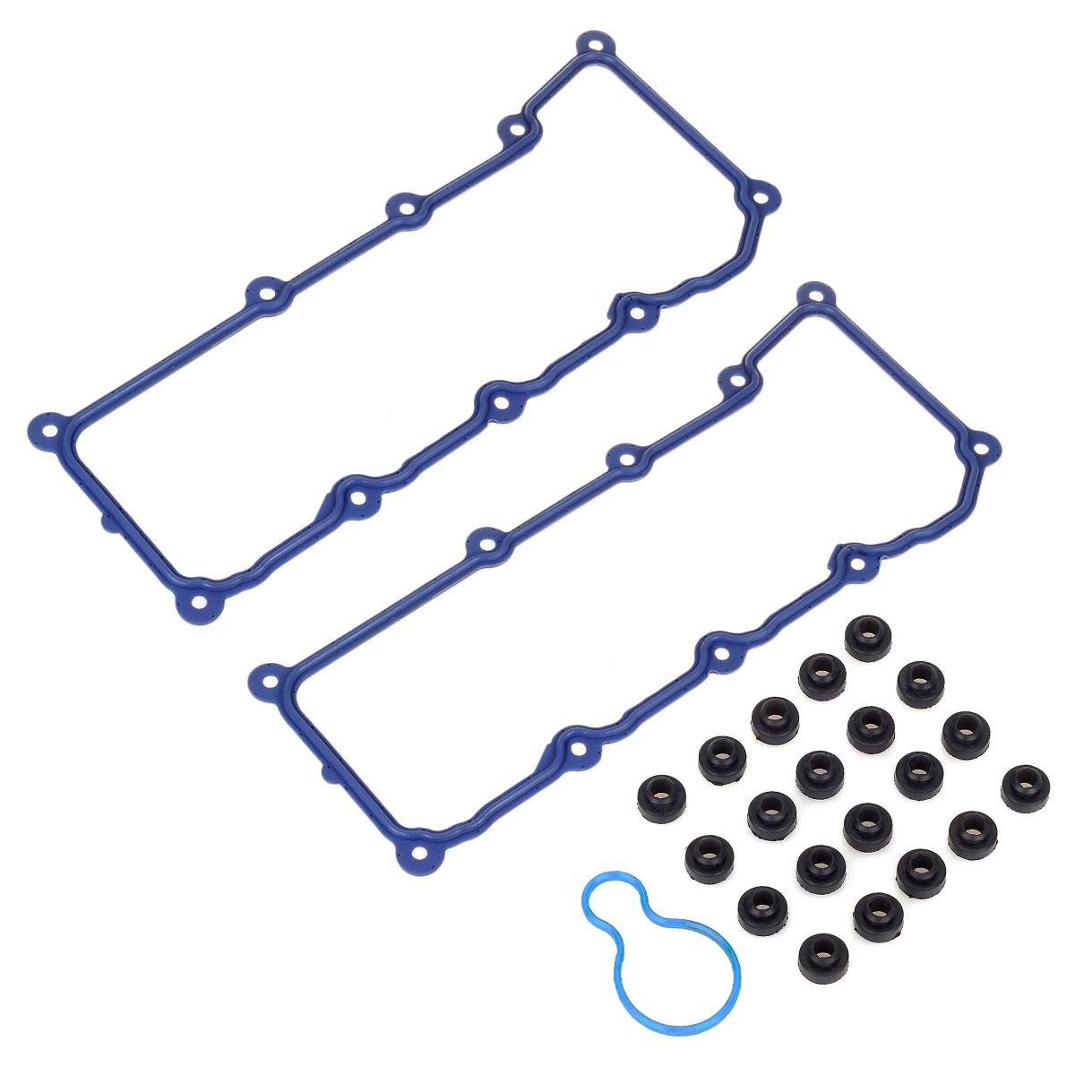 Fits For Vin Code K 2002 2005 Dodge Jeep Liberty 37l V6 Engine Diagram As Well Cherokee Water Pump Cylinder Valve Cover Gasket Oe Repl Automotive