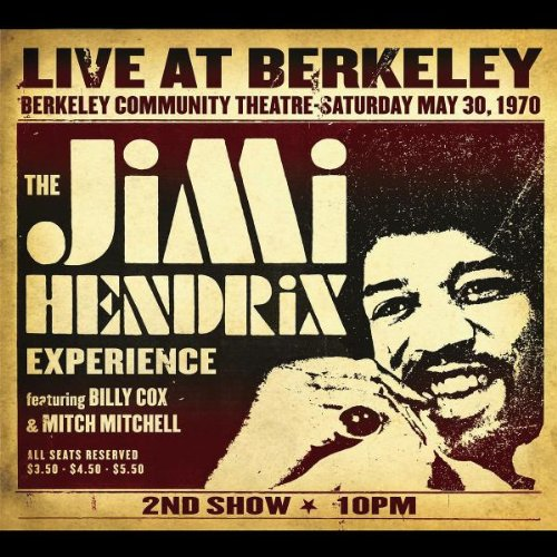 Live At Berkeley by Experience Hendrix