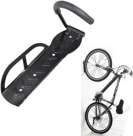 Crochet pour vélo mural avec suspension par roue avant