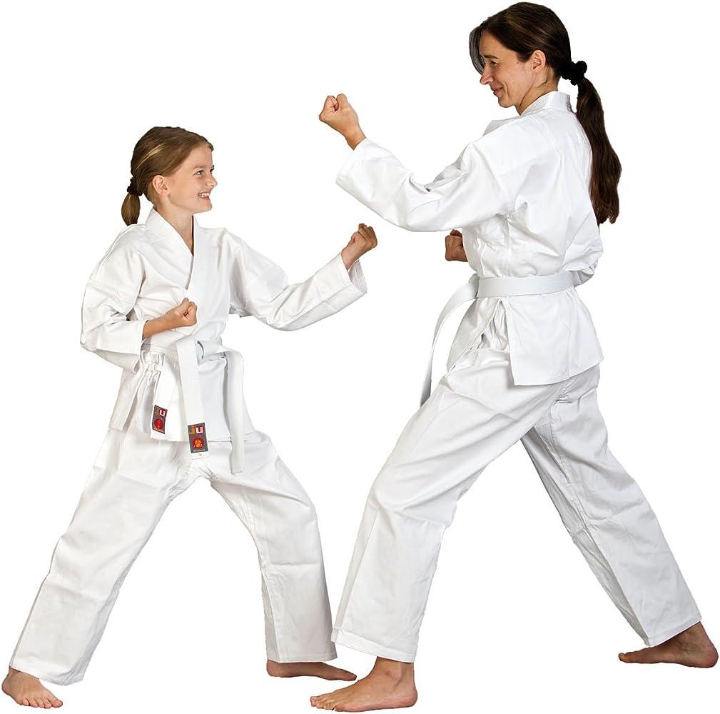 """90cm Karate Anzug /""""to start/"""" 8Oz Inkl.weißem Gürtel"""