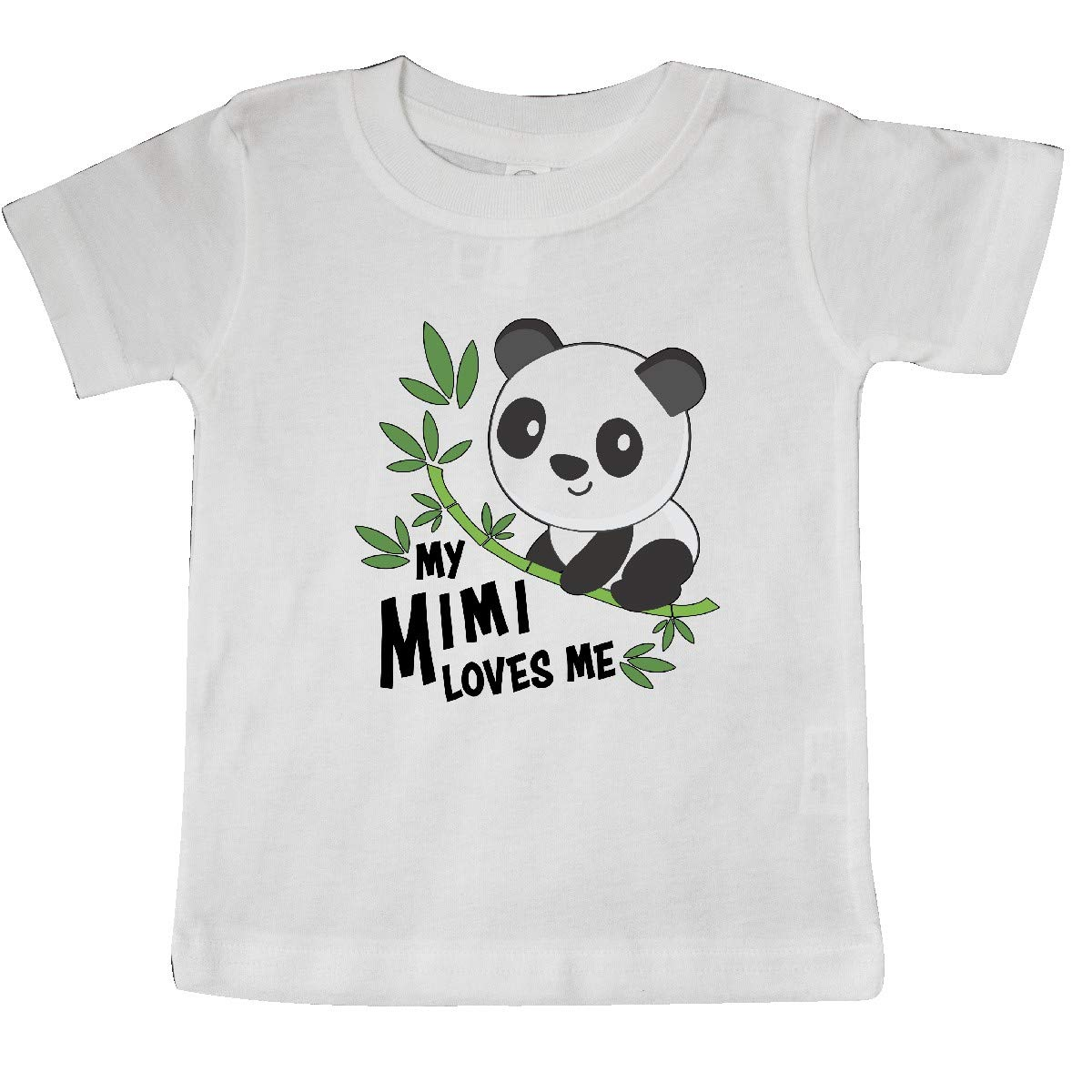 inktastic My Mimi Loves Me Cute Panda Baby T-Shirt