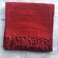 Gizhome Mono Koltuk Örtüsü 125X150 Kırmızı