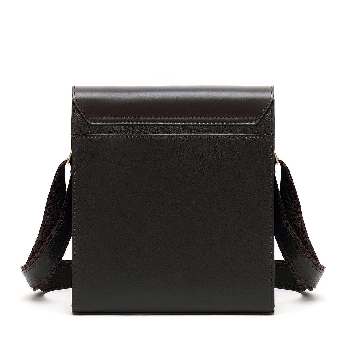 Mioy /Él/égant Sac /à Bandouli/ère en Cuir Pour Homme Sacoche Petit Sac /à /Épaule Retro Sac de Messager Mini Business Sac /à main