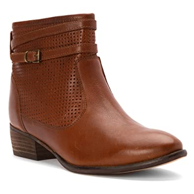 Seychelles Women's Sanctuary Cognac Leather Boot ...