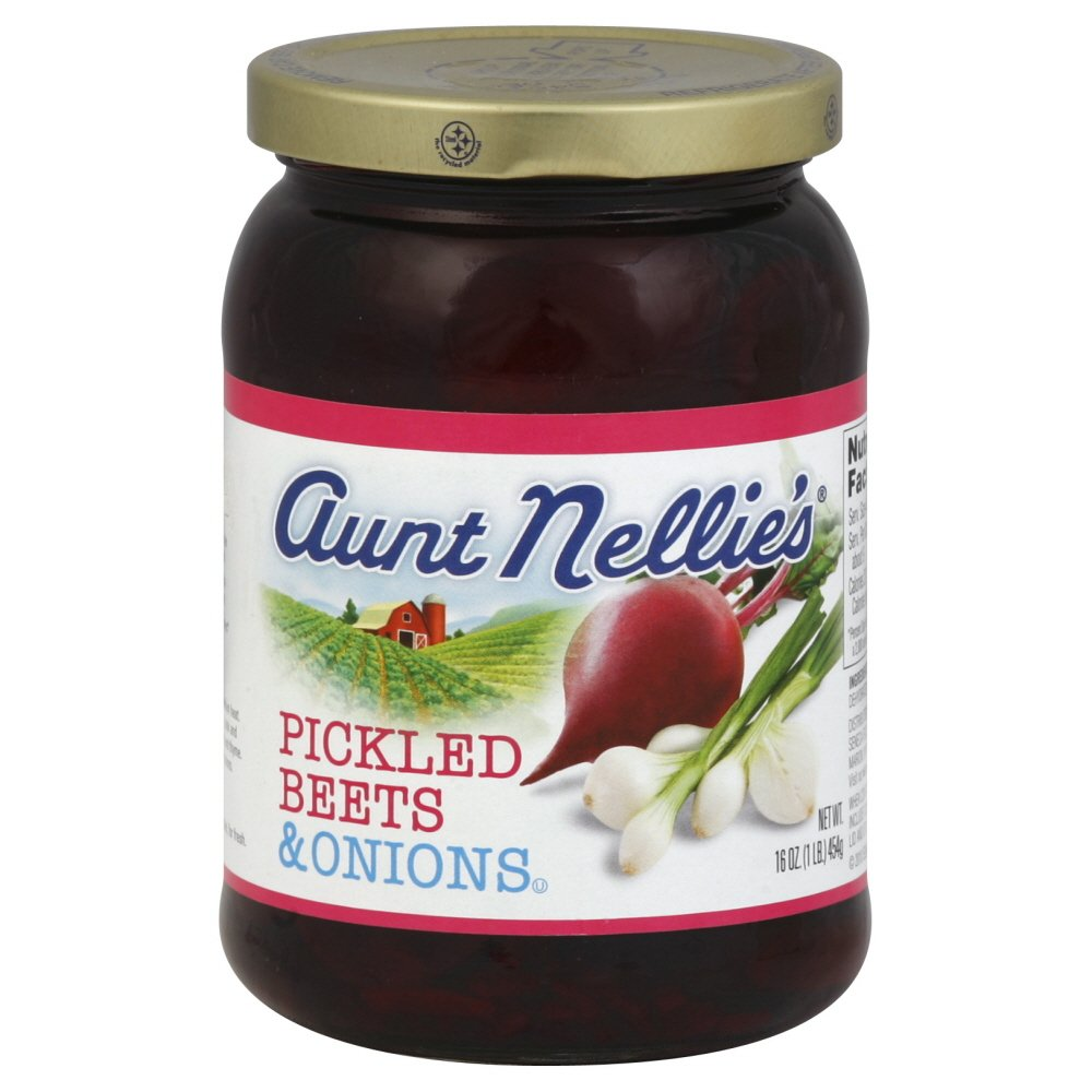 Aunt Nellie's Pickled Beets & Onions