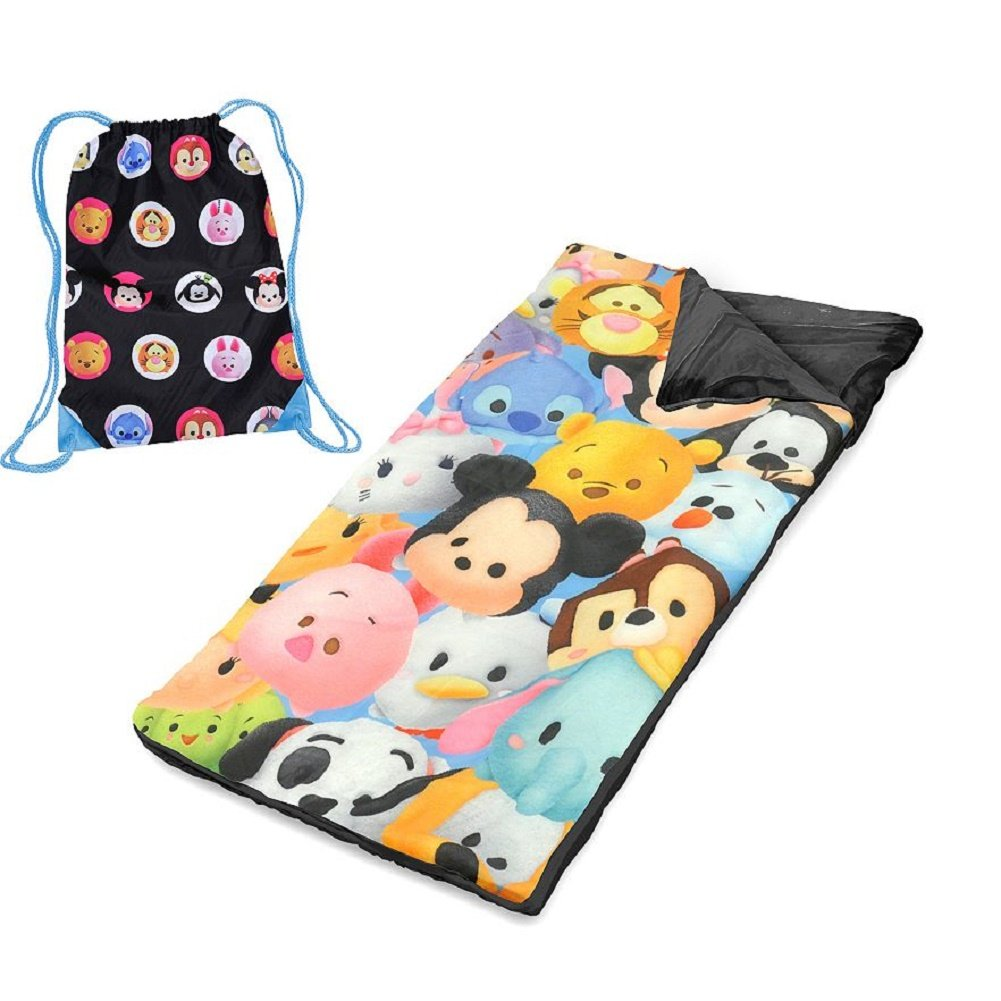 Tsum Tsum Girls Sleeping Slumber Bag and Sling Tote