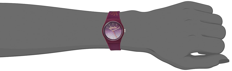 Pulsera Morado Superdry Syl179r De MujerSiliconaColor Reloj 0wnOkX8P