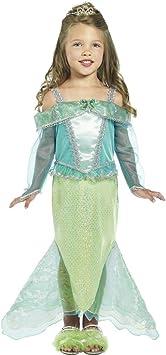 NET TOYS Traje de Sirena para niños Disfraz mar Vestuario Cuento ...