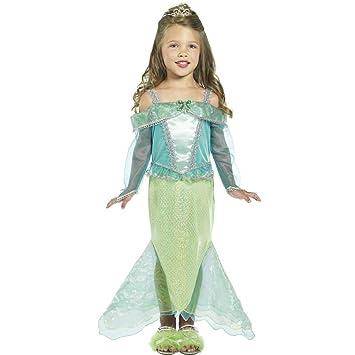Traje de sirena para niños disfraz mar vestuario cuento ...