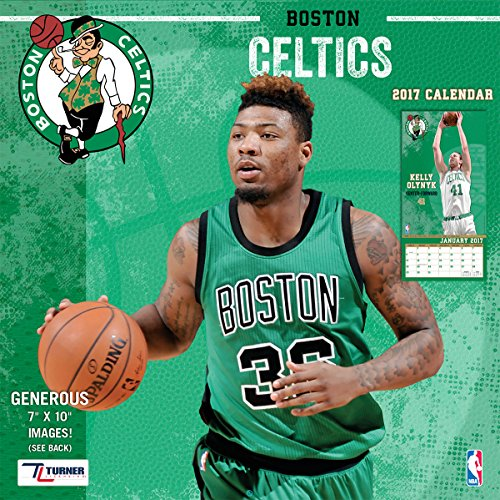 Turner Licensing Sport 2017 Boston Celtics Mini Wall Calendar (17998040548)