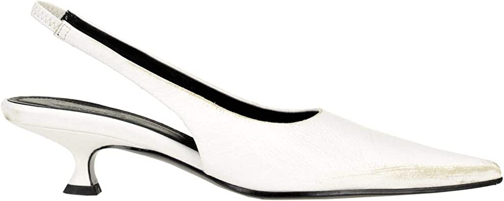 Maison Margiela Luxury Fashion Womens MCGLCAT0000D7136E White Heels | Season Outlet