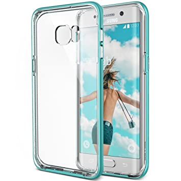 VRS Design Carcasa Galaxy S6 EDGE PLUS, [Crystal Bumper]