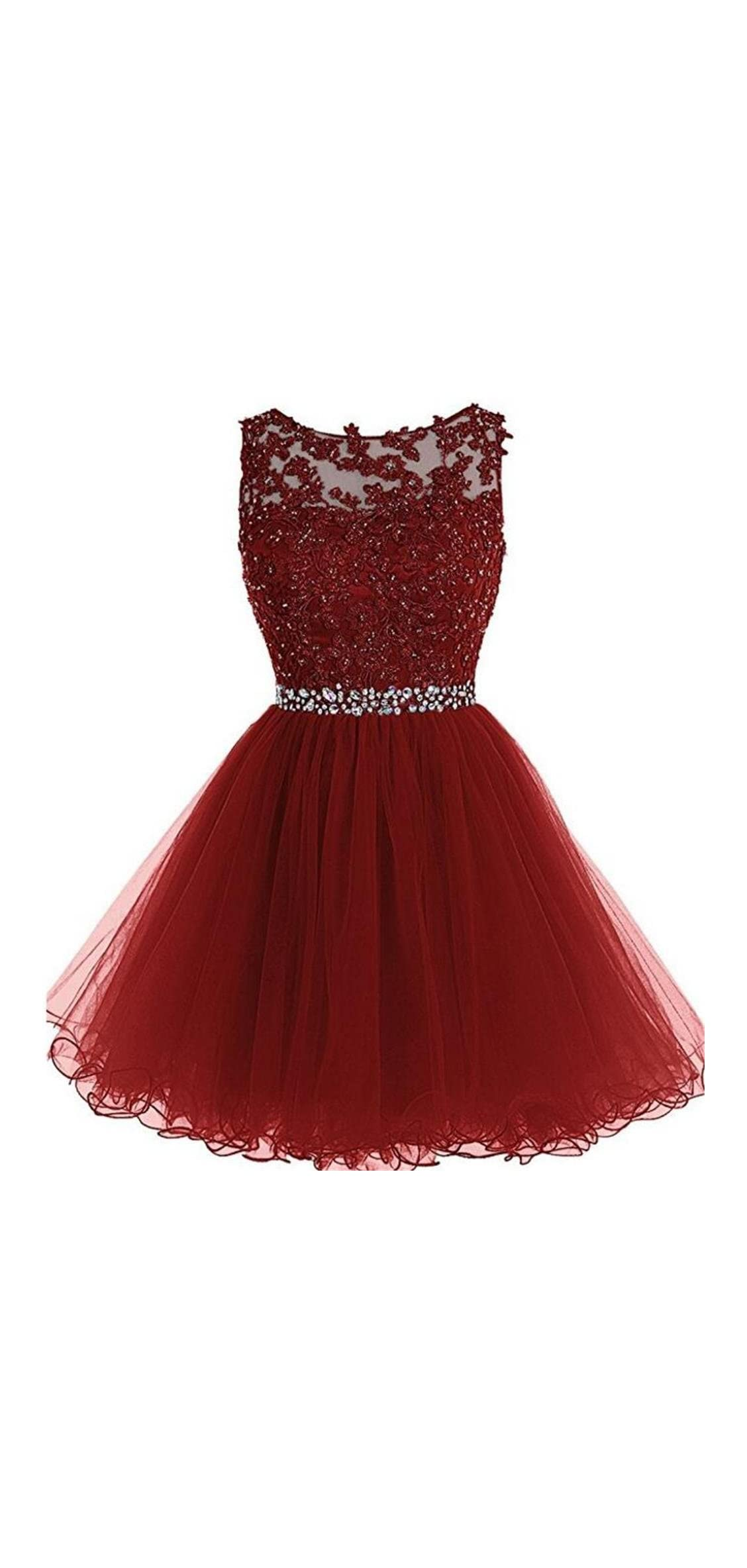 Prom Dresses Short For Women Homecoming Dress  A Line