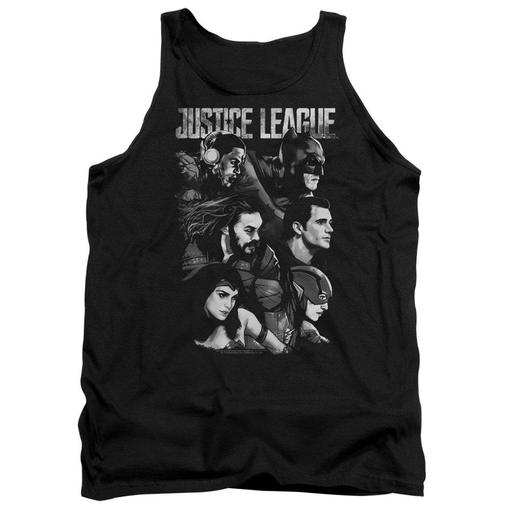 DressCode Justice League Movie Mens Pushing Forward Tank Top