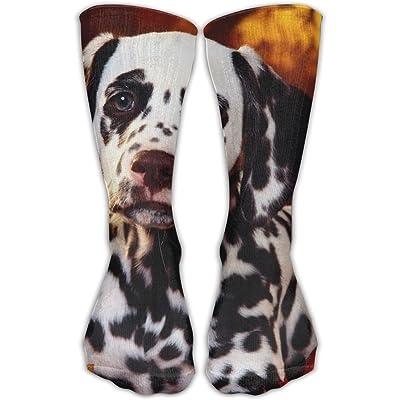 Unisex Tube Socks Crew Pet Dog Soccer Comfort Over The Calf Stockings For Sport And Travel