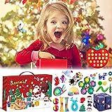 Fidget Advent Calendars 2021 Toy for Kid,Pop-On-It