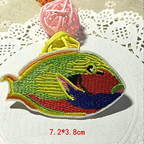 4 DESIGN Iron or Sew On Insect Whale Motif Crochet Cross Stitch Motif BUY 1 2
