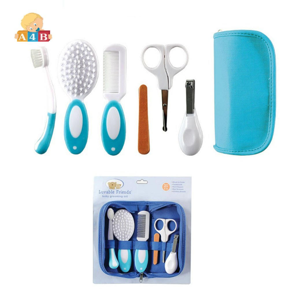 all4baby Grooming Care Tiny Manicure 6 pcs Set Blue by A4B