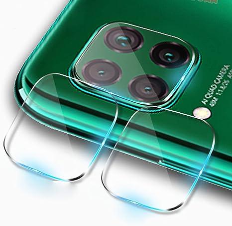 Image ofCámara Protector de Pantalla para Huawei P40 Lite Cámara Cristal Templado Protector 2-Pack 9H Anti-explosión Anti-rasguños Cámara Lens Protector para Huawei P40 Lite