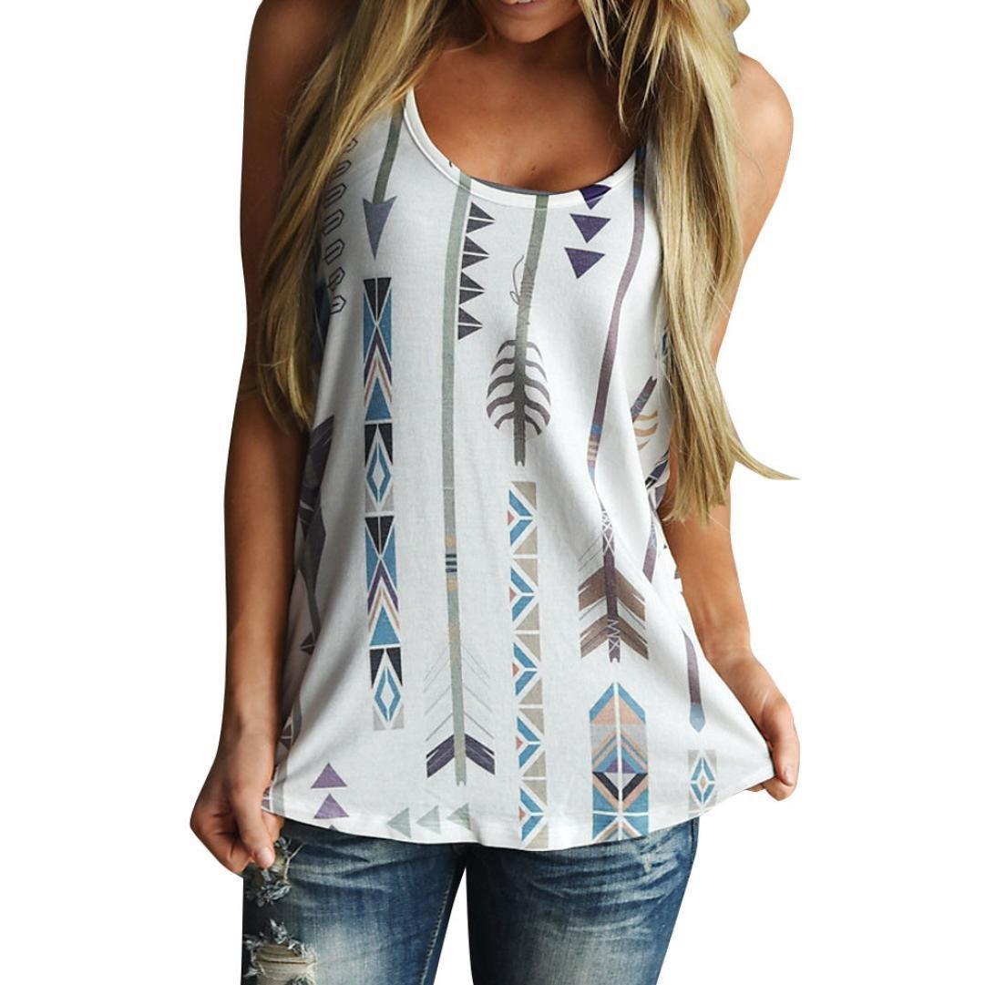 ... Cuello Redondo Camiseta, Suave Cómodo Slim T-Shirt con Cartas/Patrones Temática Impresión camisetas ropa tops mujer (XL, Blanco): Amazon.es: Belleza