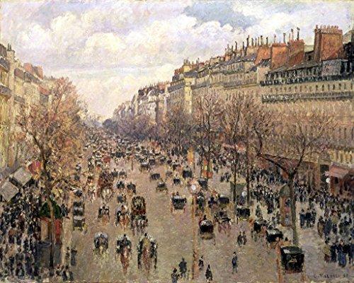 - kunst für alle Art Print/Poster: Camille Pissarro Boulevard Montmartre Afternoon Sun 1897
