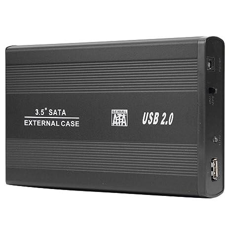 Domybest - Caja de Disco Duro SSD de 3,5 Pulgadas USB 2.0 a Puerto ...