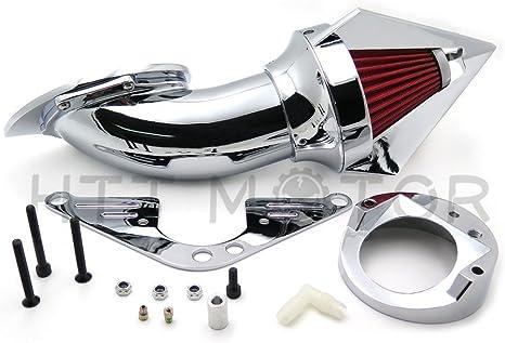 Spike Air Cleaner Kit f/ür Yamaha V-Star 1100 Dragstar XVS1100 1999 NBX 2012 Chrom