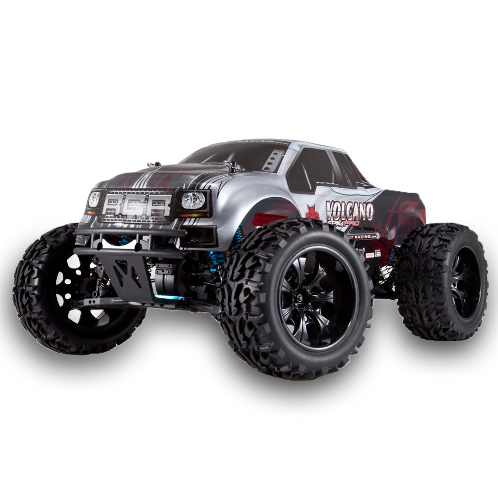 Volcano EPX Pro 1/10 Scale Brushless Truck Silver