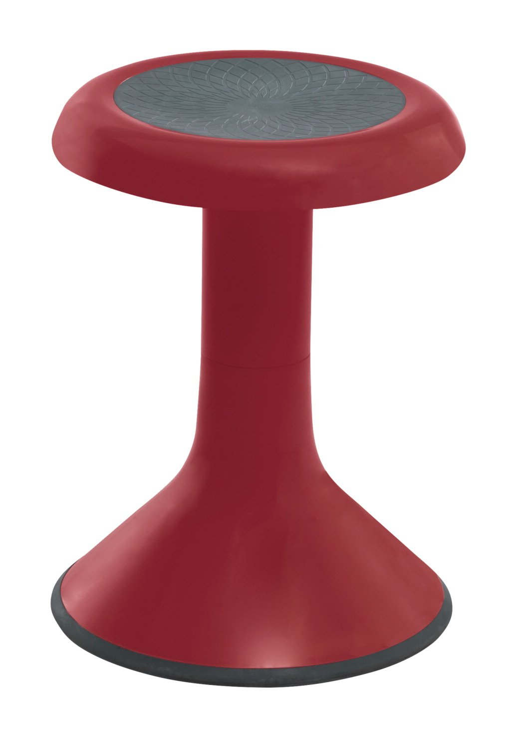 Classroom Select NeoRok Motion Stool, Active Wobble Seating, 12-1/2 Inch Seat Height, Claret