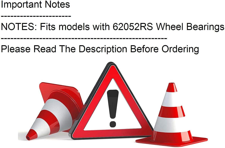 Viper Red Fits 1996 Ski-Doo MX Z 583 135mm x 25mm Idler Wheel
