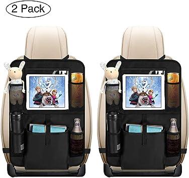 Auto Organizer Baby Kinder Rücksitz Rückenlehnenschutz Rücksitztasche Tasche 7