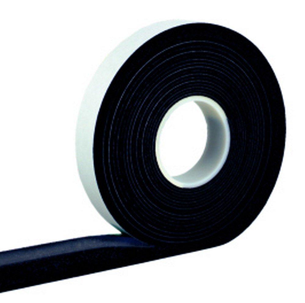10,0 m Cinta De Compresión 20/3 ancho de banda 20 mm, Acrílico 300, expansión de 3 a 15 mm, antracita, vorkomprimiertes Selbstklebendes - Cinta de sellado ...