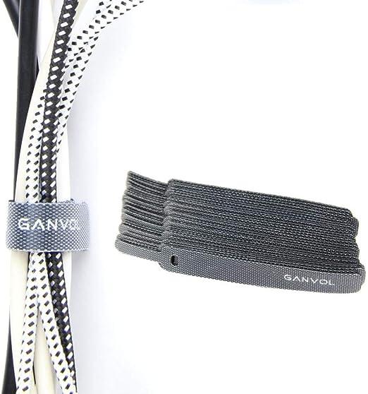 20 cm x 1.2 cm 25 pieces x Wrap nylon Réutilisable Attaches De Câbles Attaches Sangle