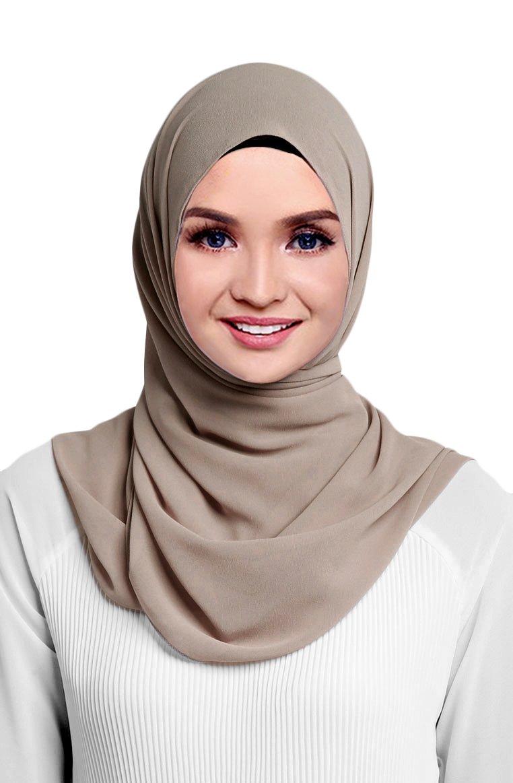 Hana's Womens Georgette Chiffon Hijab SLDGG-1