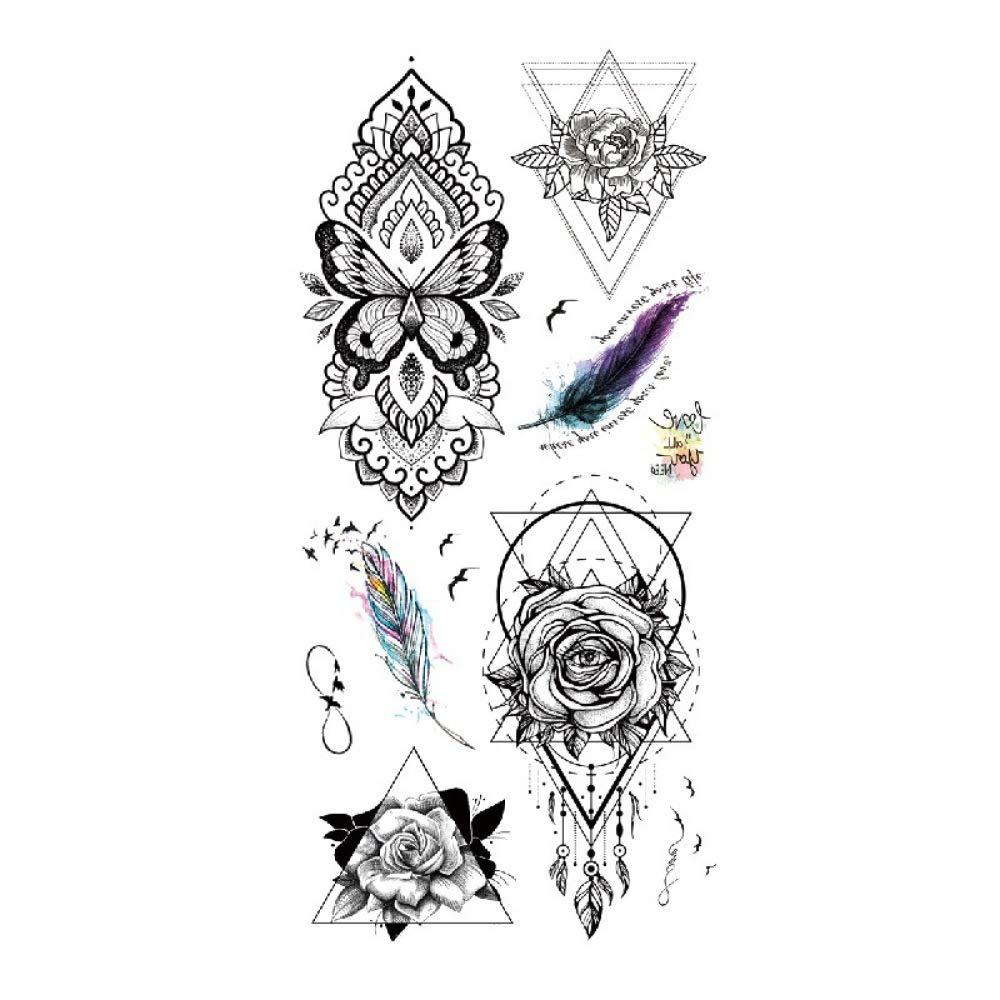 Amy TL Etiqueta engomada del tatuaje a prueba de agua Spot Dream ...