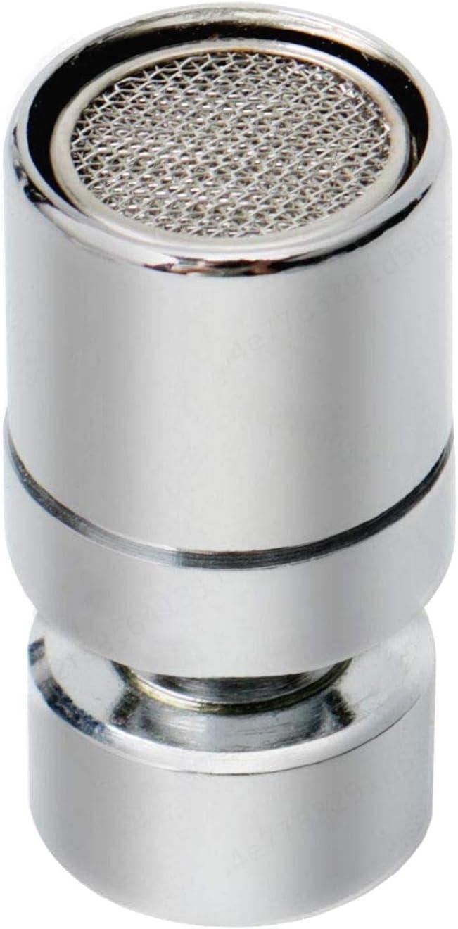 SALAKA Aireadores de Grifo Universal de Acero Inoxidable 304 Pieza de Repuesto de Boquilla giratoria giratoria de Grifo Giratorio 360