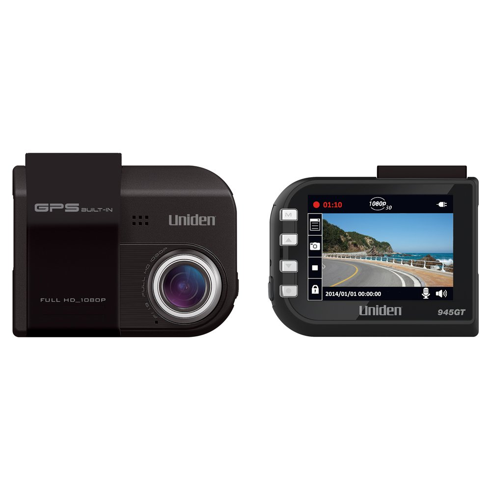 1.5 LCD 8GB Micro SD Card Included 1.5 LCD 140-degree Wide Angle Lens Uniden DC1 1080p Full HD Dash Cam G-Sensor with Collision Detection Loop Recording
